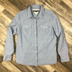 Tommy Hilfiger Denim Long Sleeve Shirt size L